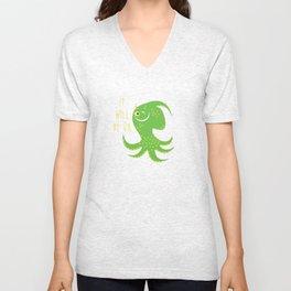 Squid of Reassurance Unisex V-Neck