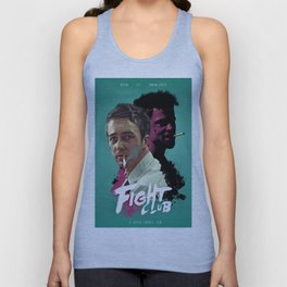 Fight.Club Alternative Movie Poster - Brad Pitt Unisex Tank Top