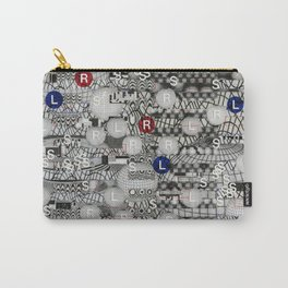 Do The Hokey Pokey (P/D3 Glitch Collage Studies) Carry-All Pouch