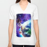 constellation V-neck T-shirts featuring Constellation by J ō v