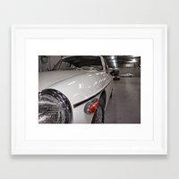 ashton irwin Framed Art Prints featuring Ashton Martin by gr8gray