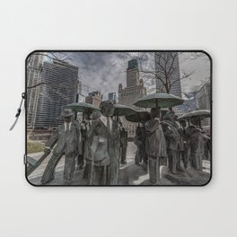 Chicago Sculptures Commuting to Work Laptop Sleeve
