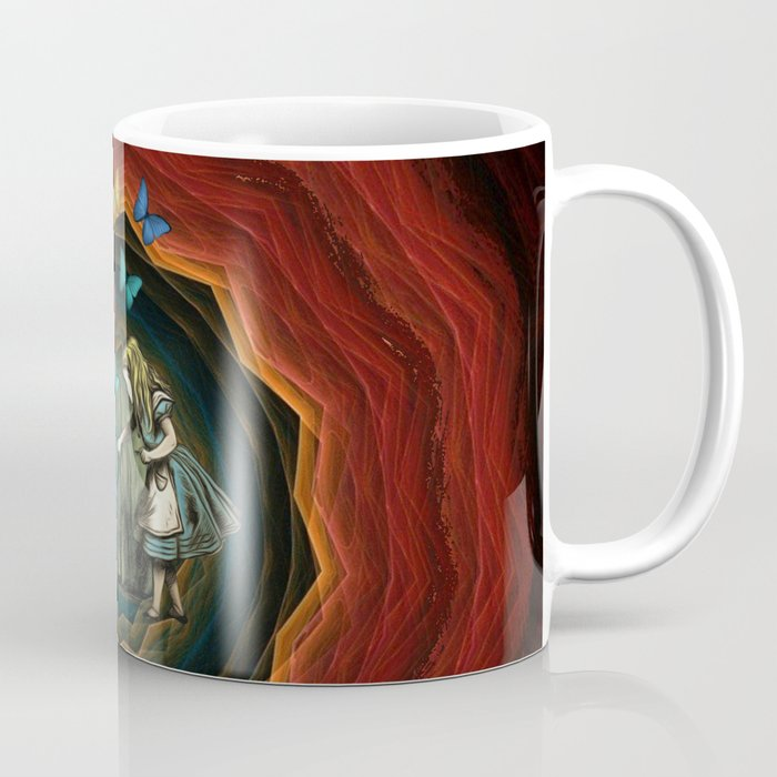 Alice In Wonderland - Let The Magic Begin Coffee Mug
