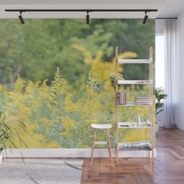 Field of Goldenrod Wall Mural