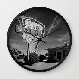 Bel Air 50s Motel Wall Clock