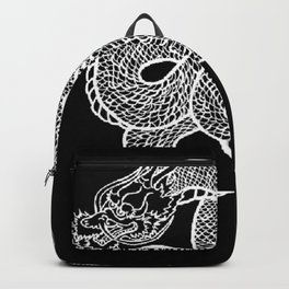 Twin Dragons Backpack