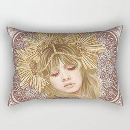 Stevie Nicks Illustration Rectangular Pillow