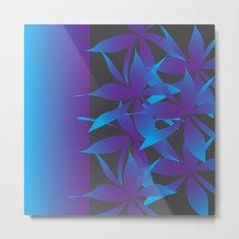 Floral Shapley Metal Print