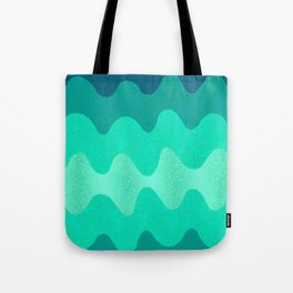 Under the Influence (Marimekko Curves) Seaside Tote Bag