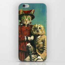 The Owl And The Pussy Cat iPhone Skin