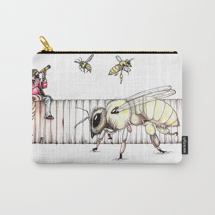 The Last Bee-Fence Carry-All Pouch