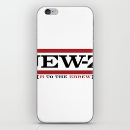 Jay-Z, umm I mean Jew-Z (H to the EBREW)! iPhone Skin