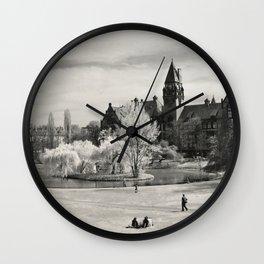 Tolpa's Park Wall Clock