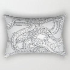 Serpentine 02. Rectangular Pillow