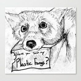 Plastic Fangs Collective Canvas Print
