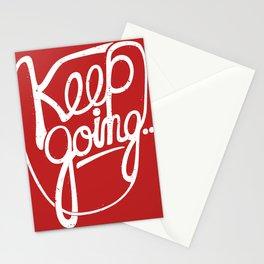 KEEP GO/NG Stationery Cards