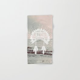 Your Vibe Attracts Your Tribe - Pacific Ocean Hand & Bath Towel