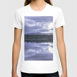 Cloud reflection over the lake T-shirt