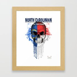 To The Core Collection: North Carolina Framed Art Print