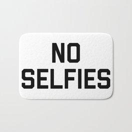 No Selfies Bath Mat