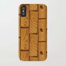 Wooden Boards Slim Case iPhone X