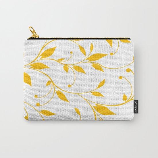 FLOWERY VINES | white yellow by cheryldaniels