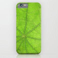 Green Leaf Veins 03 Slim Case iPhone 6s