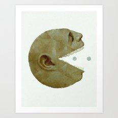 ManPac rectangular 1 Art Print