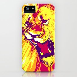 Strength of a Sun iPhone Case