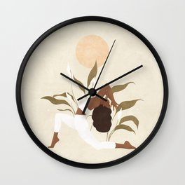 Feel what you need to Feel, and then Let it Go. Wall Clock