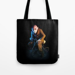 Nosferatu On A Tricycle Tote Bag