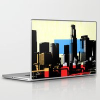 los angeles Laptop & iPad Skins featuring Los Angeles by Amy Smith - ColorScape