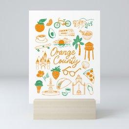 Orange County Mini Art Print