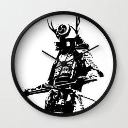 Samurai Wall Clock