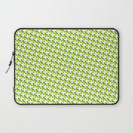 So cross… yellow. Laptop Sleeve