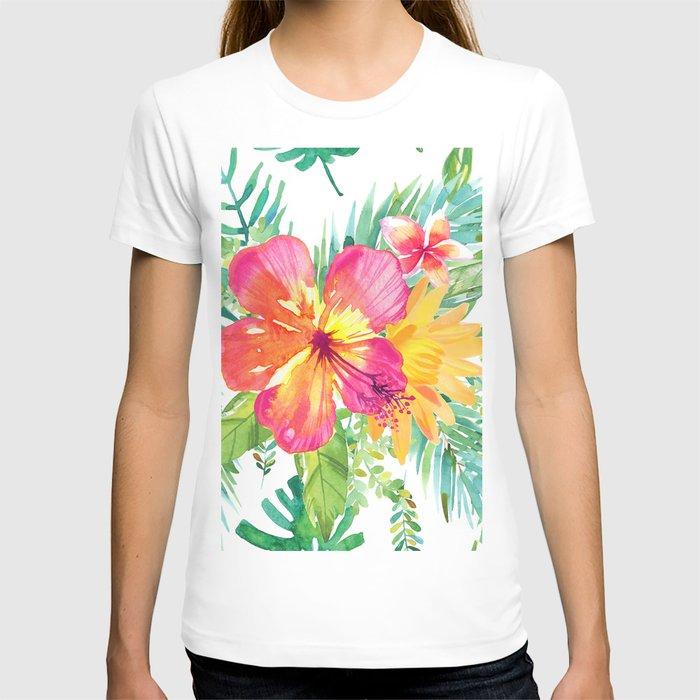 Floral paradise T-shirt