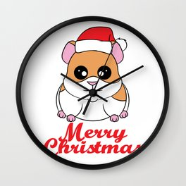 Fan of Guinea Pig and Christmas? Have them both with this cute and adorable tee!  Wall Clock