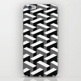 Escher pattern I iPhone Skin