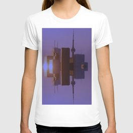 Skyline Symmetry in Toronto, Ontario  T-shirt