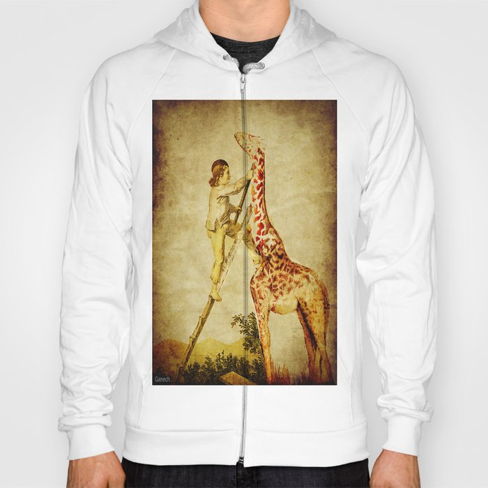le petit garçon et la girafe  Hoody