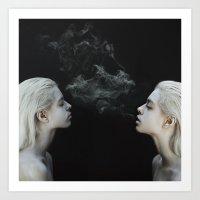 soul Art Prints featuring Soul by Jovana Rikalo
