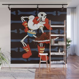 Papyrus and his Spaghetti Wall Mural