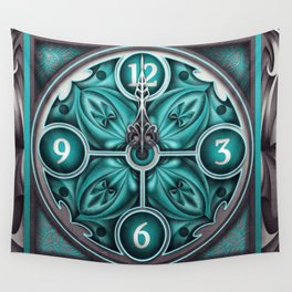 Time waits for no man Wall Tapestry