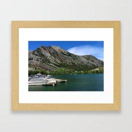 Waterton Lakes Framed Art Print