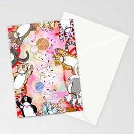 Catnip Mayhem Stationery Cards