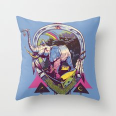 bona fortuna Throw Pillow