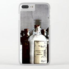 Medicine Man Clear iPhone Case