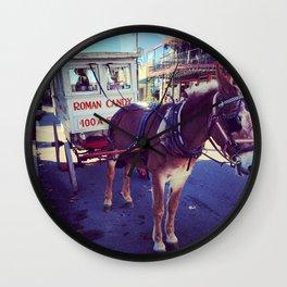 Roman Candy Wall Clock