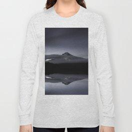 Trillium Lake Reflection Long Sleeve T-shirt