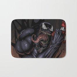 Spider and Venom, man. Bath Mat